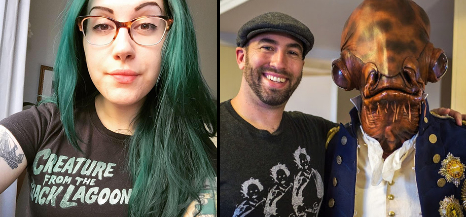 Podcaster, film production pro Mallory O'Meara and makeup effects artist Frank Ippolito team up as our Special Guests in Episode 004 on the Damn Dirty Geeks podcast.