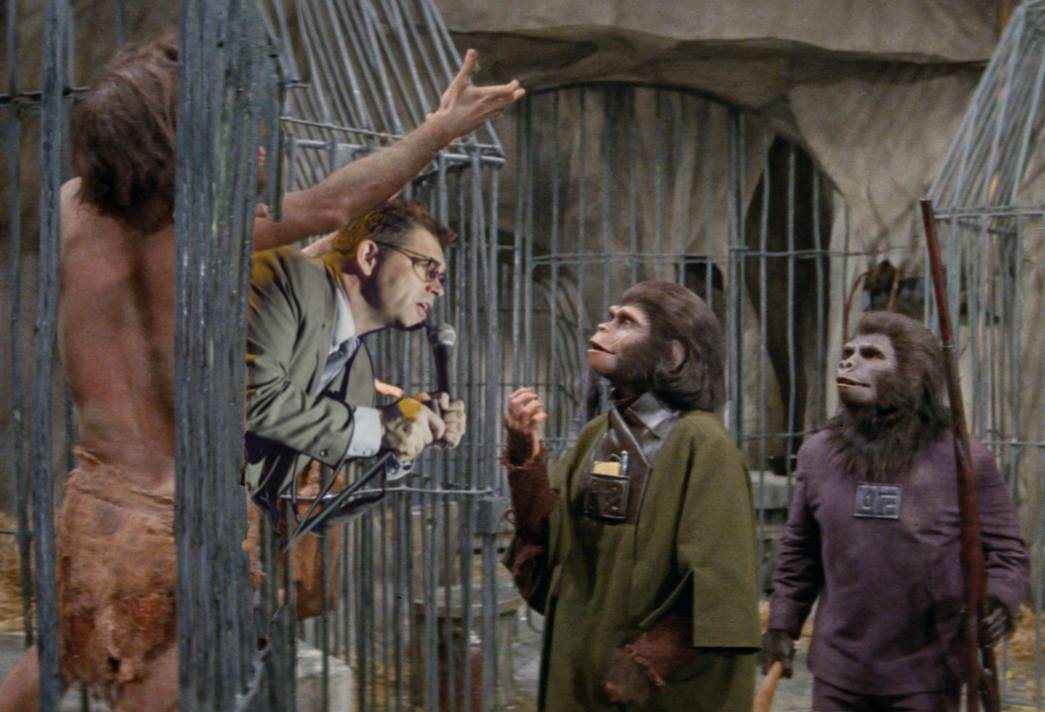 Comedian Dana Gould joins the Damn Dirty Geeks in our special PLANET OF THE APES podcast episode