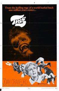 One-sheet poster for TROG (1970)