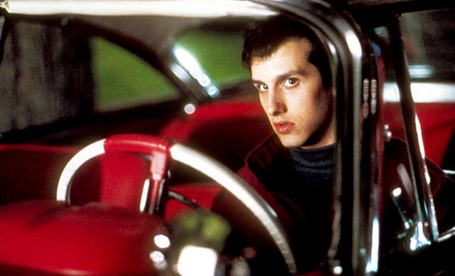 Actor Keith Gordon as Arnie Cunningham in John Carpenter's CHRISTINE. Photo by Moviestore Collection / Rex Features (1544186a)