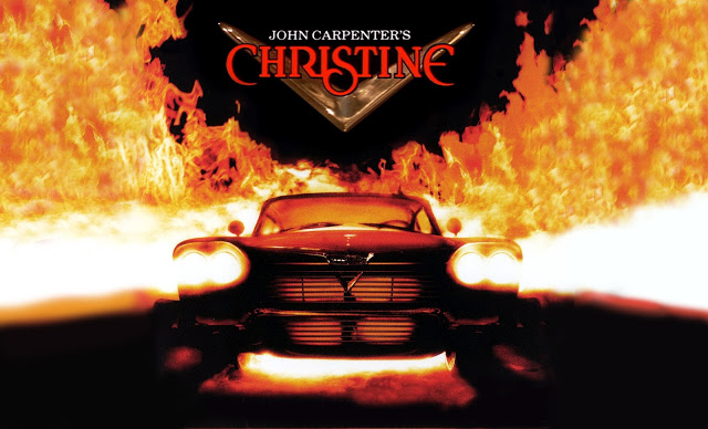 Poster art for John Carpenter's CHRISTINE (1983)