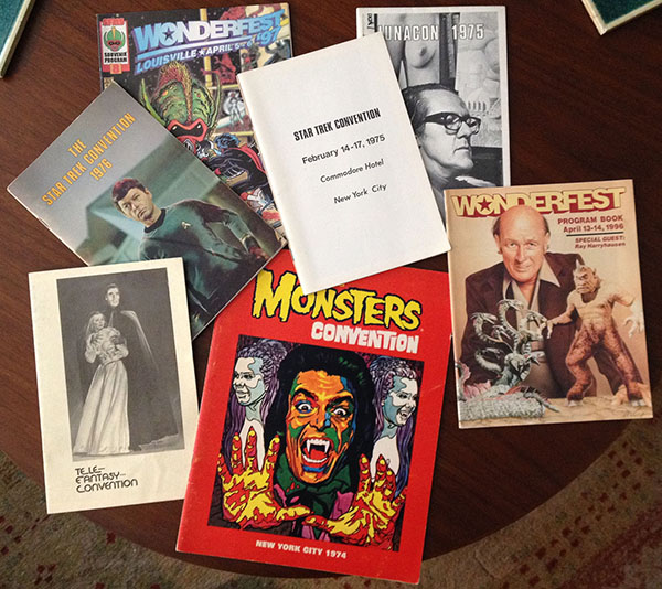 Frank Dietz's program collection from some popular and historic fan conventions as the Damn Dirty Geeks talk Comic-Con in our latest podcast episode.