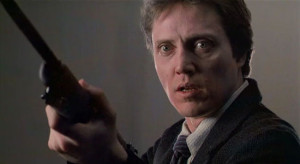 Christopher Walken as Johnny Smith, a man tortured by psychic images of future events and forced to change them in David Cronenberg's THE DEAD ZONE from 1983.
