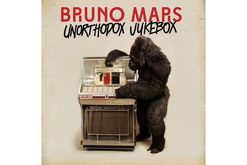 Tom Woodruff Jr. brings his gorilla suit genius to the album cover for Bruno Mars' album Unorthodox Jukebox