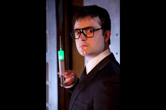 Graham Skipper as Herbert West in RE-ANIMATOR THE MUSICAL, the award-winning live stage production that ran in LA and Las Vegas