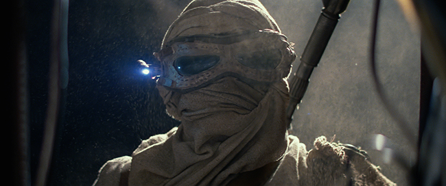 Star Wars: The Force Awakens.  Rey (Daisy Ridley) Ph: Film Frame © 2014 Lucasfilm Ltd. & TM. All Right Reserved.