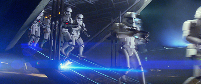 Star Wars: The Force Awakens..First Order Troopers. Ph: Film Frame. © 2015  Lucasfilm Ltd. & TM. All Right Reserved.