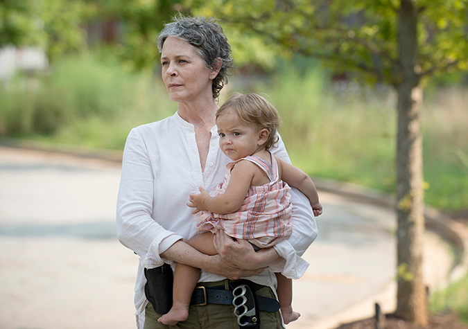Carol Peletier (Melissa McBride) in Episode 7. Photo by Gene Page/AMC