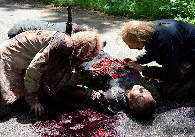 Walkers in Episode 3. Photo by Gene Page/AMC