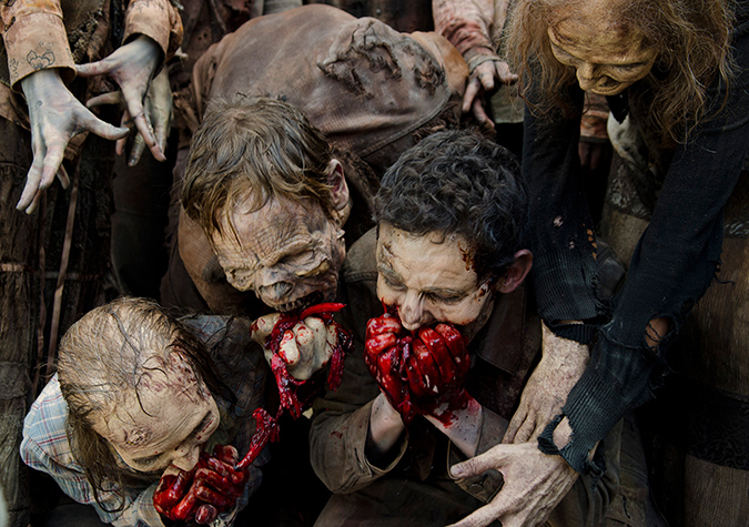 Walkers in Episode 7. Photo by Gene Page/AMC