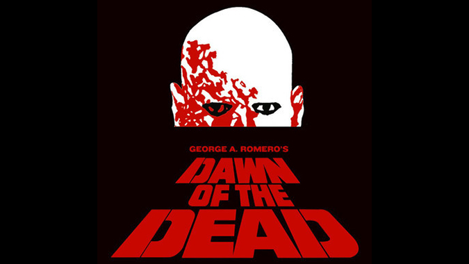 Poster art for George Romero's DAWN OF THE DEAD