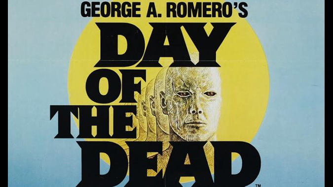 Poster art for George Romero's DAY OF THE DEAD