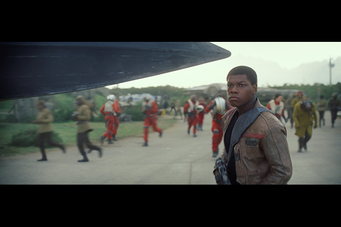 Star Wars: The Force Awakens. Finn (John Boyega). Ph: Film Frame. © 2014 Lucasfilm Ltd. & TM. All Right Reserved.