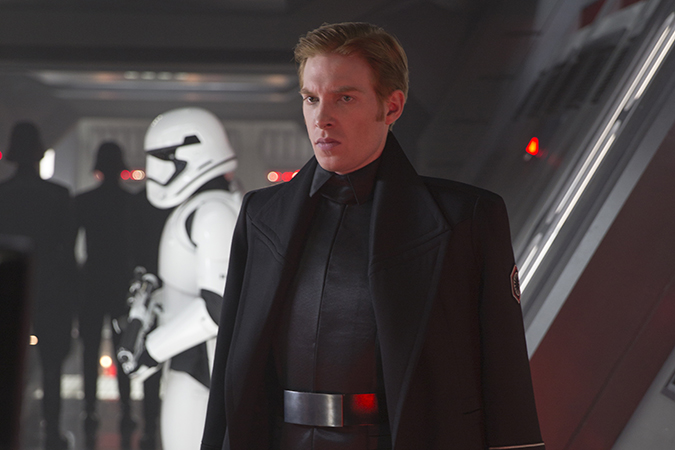 Star Wars: The Force Awakens. General Hux (Domhnall Gleeson). Ph: David James.  ©Lucasfilm 2015