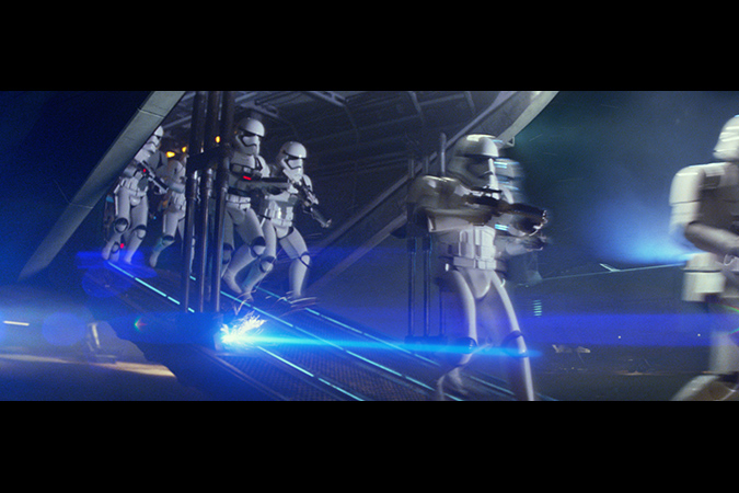 Star Wars: The Force Awakens..First Order Troopers..Ph: Film Frame..? 2014 Lucasfilm Ltd. & TM. All Right Reserved..