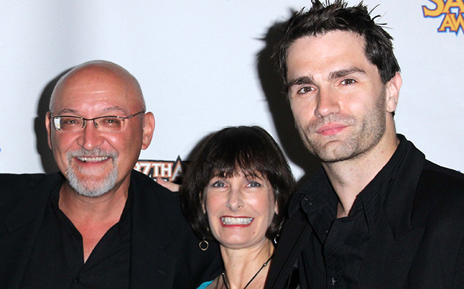 Frank Darabont, Gale Anne Hurd, Sam Witwer at the 37th Annual Saturn Awards Press Room, Castaway, Burbank, CA. 06-23-11. David Edwards/Dailyceleb.com