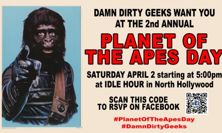 PLANET OF THE APES DAY CELEBRATION APRIL 2, 2016