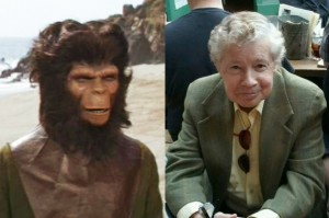 PLANET OF THE APES actor Lou Wagner (Lucius) was our special surprise guest at the Damn Dirty Geeks' 2nd annual Planet of the Apes Day fan event at Idle Hour in North Hollywood, CA.