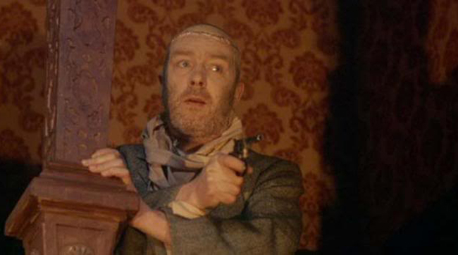 Freddie Jones as the remains of Professor Richter in Hammer's FRANKENSTEIN MUST BE DESTROYED (1969)