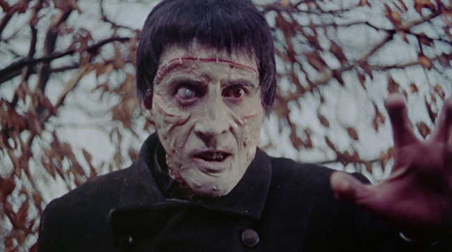 Christopher Lee as the Creature in Hammer's THE CURSE OF FRANKENSTEIN (1957)