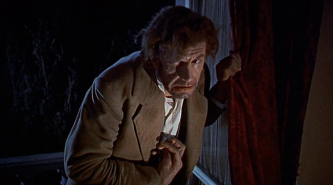 Michael Gwynn as Karl in Hammer's THE REVENGE OF FRANKENSTEIN (1958)