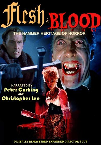Order the updated edition of Ted Newsom's excellent documentary FLESH AND BLOOD: THE HAMMER HERITAGE OF HORROR on DVD -- just look for act3prods@aol.com on PayPal to order directly.