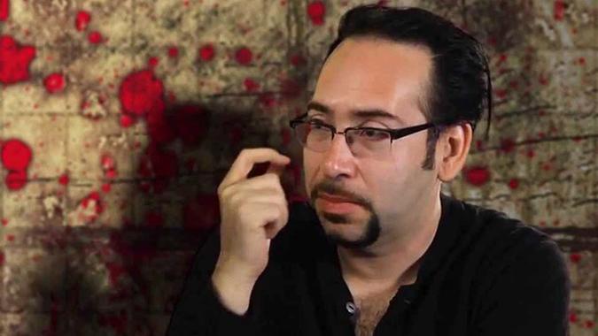 Horror filmmaker Mike Mendez