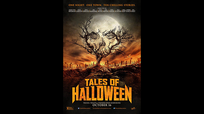 Poster for TALES OF HALLOWEEN