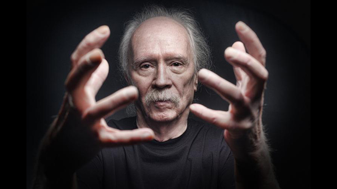 John Carpenter, director and composer who continues inpsiring artists and generations in his decades-long career making memorable films.