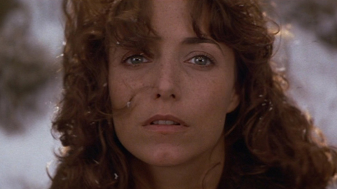 The emotionally impactful final shot of Jenny Hayden (Karen Allen) from John Carpenter's 1984 box office hit STARMAN.