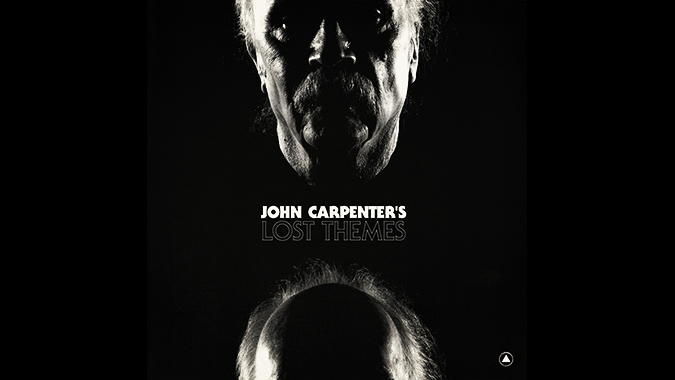 Cover design for John Carpenter's 2015 studio album LOST THEMES.