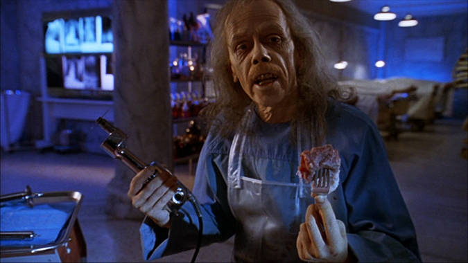 John Carpenter himself became The Coroner in the 1993 TV anthology movie BODY BAGS.