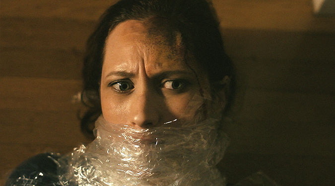 Diana Porter faces a dangerous threat in director Izzy Lee's 2015 psychological horror short POSTPARTUM.