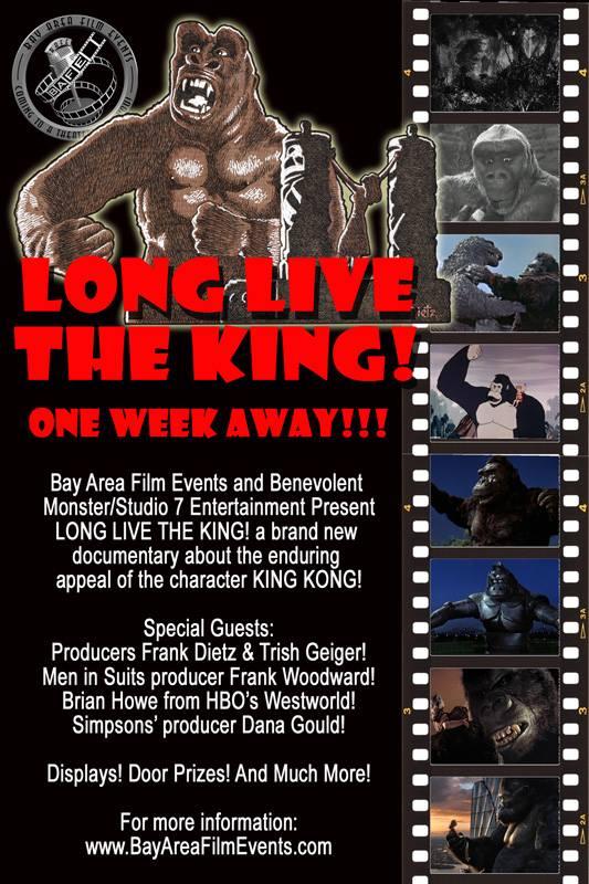 Long Live the King BAFE poster