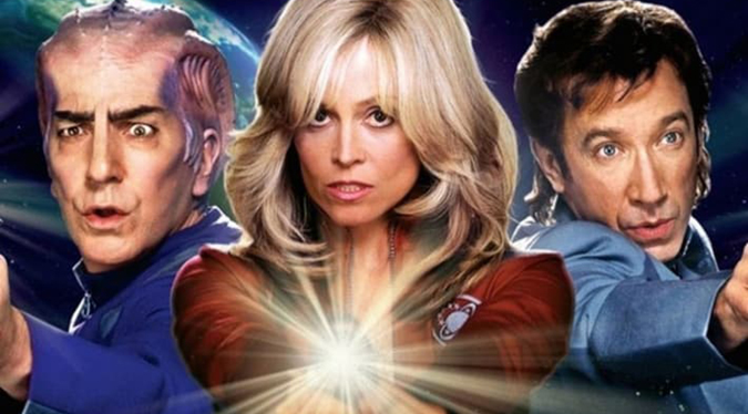 Alan Rickman, Sigourney Weaver and Tim Allen never give up, never surrender in GALAXY QUEST. Is it the best STAR TREK movie yet made?