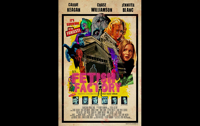 Poster for Staci Layne Wilson's FETISH FACTORY