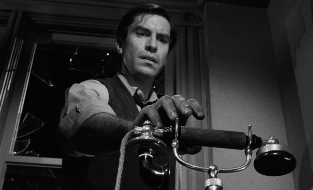 Martin Landau delivered a riveting performance as Major Ivan Kuchenko in the tense episode 'The Jeopardy Room' in season five of THE TWILIGHT ZONE.