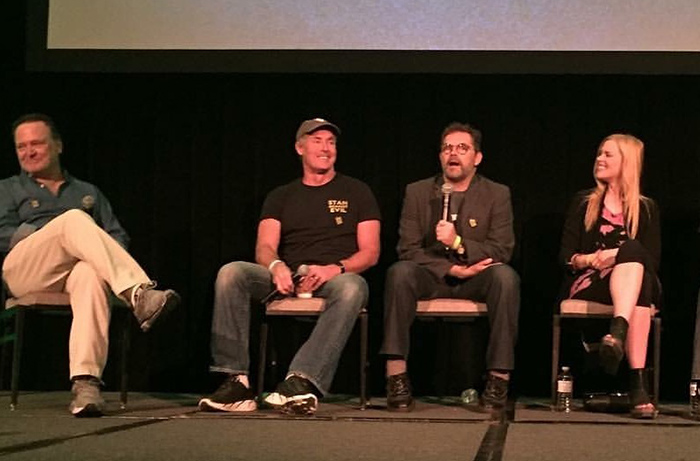From Son of Monsterpalooza 2016, our own Frank Dietz hosts the STAN AGAINST EVIL panel with John C. McGinley, Dana Gould and Janet Varney.