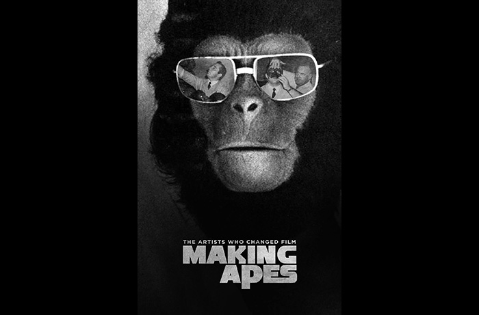 Poster for MAKING APES: THE ARTISTS WHO CHANGED FILM, directed by William Conlin for a 2018 release.