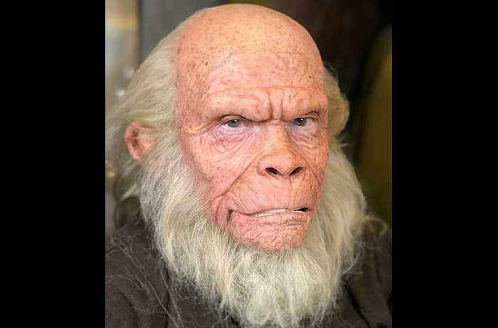 Lou Wagner as old Lucius in William Conlin's new documentary MAKING APES: THE ARTISTS WHO CHANGED FILM. A great makeup by Vincent Van Dyke working with the legendary Tom Burman.