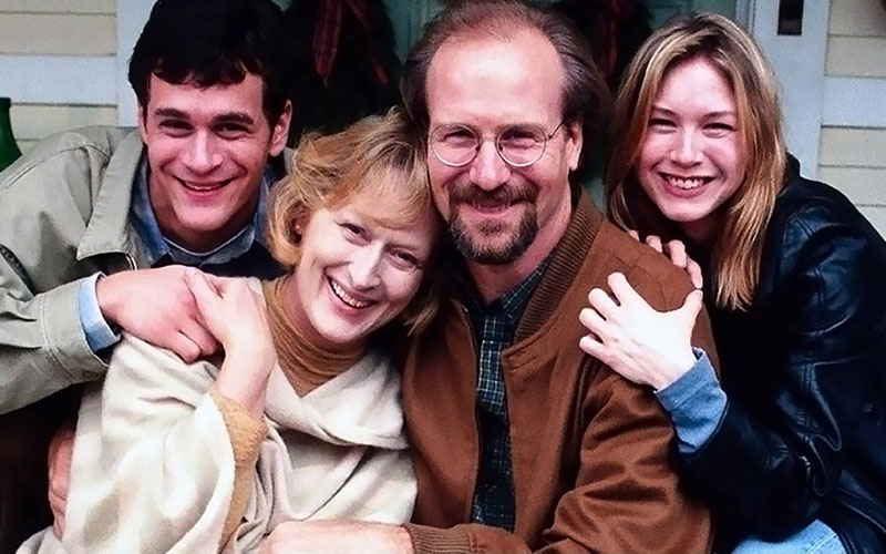 (L to R) Tom Evertt Scott, Meryl Streep, William Hurt and Renee Zellweiger in ONE TRUE THING.