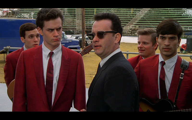 Tom Everett Scott with Tom Hanks in THAT THING YOU DO!