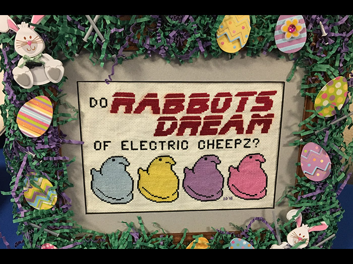 The Revival League podcast delivers a basket of laughs with their Easter radio play parody of BLADE RUNNER, titled 'Do Rabbots Dream of Electric Cheepz?'