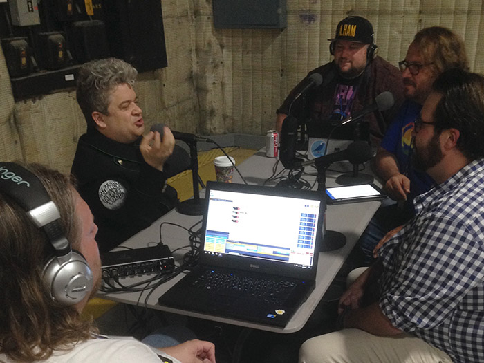 The MST3K Revival League podcast interviews new MST star Patton Oswalt.