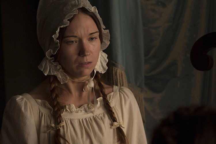 Jennifer Lynn Warren as Borquita LaLaurie seen in six Season Two episodes of AMERICA HORROR STORY.