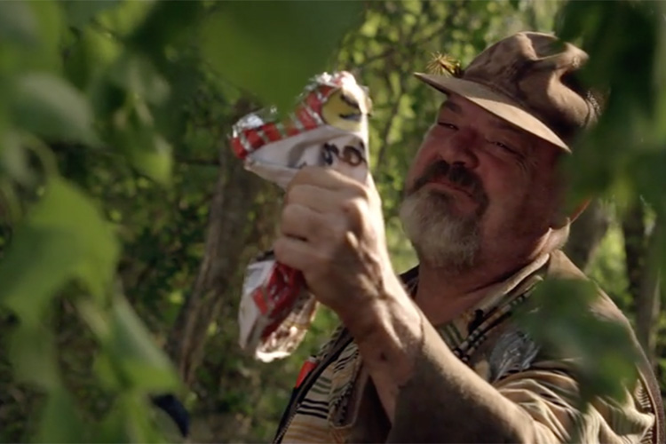 Pruitt Taylor Vince as Grover in the horror film CREATURE (2011)