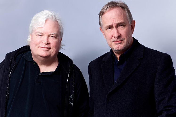 WHAT ABOUT BLOB? cast members Frank Conniff and Trace Beaulieu