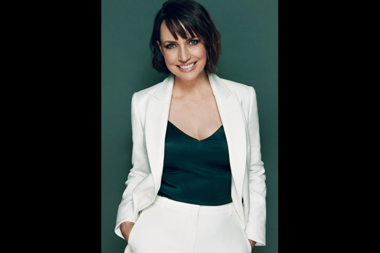Actress Julie Ann Emery