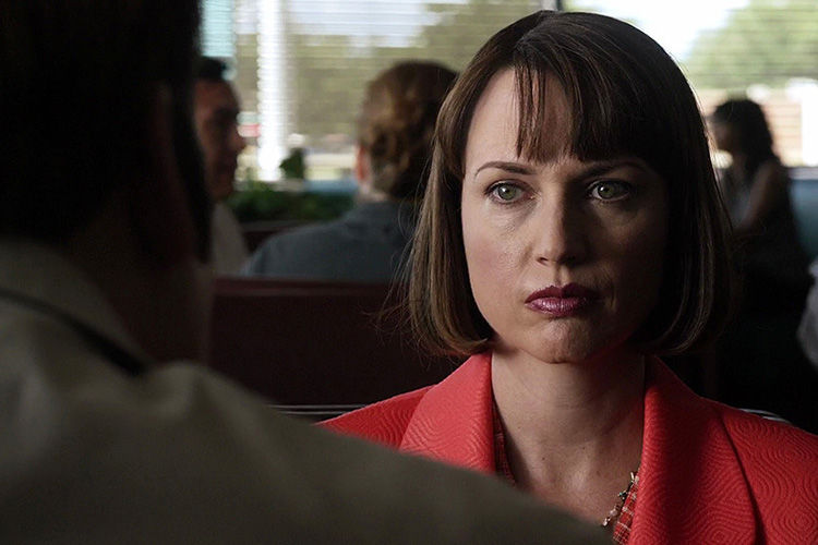Julie Ann Emery portraying Betsy Kettleman in the hit AMC series BETTER CALL SAUL.