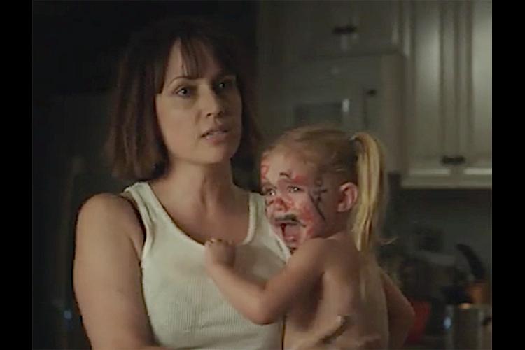 Julie Ann Emery as Joanna in the Frank Dietz co-written comedy film I HATE KIDS (2019).